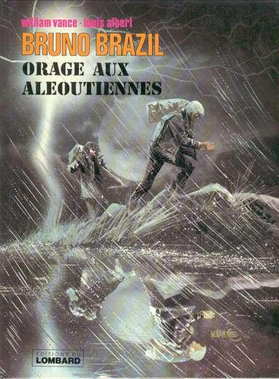 Cover for Bruno Brazil (Dargaud, 1969 series) #8 - Orage aux Aléoutiennes