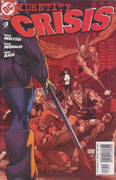 Cover for Identity Crisis (DC, 2004 series) #3 [Second Printing]