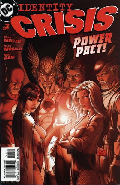 Cover for Identity Crisis (DC, 2004 series) #2 [Third Printing]