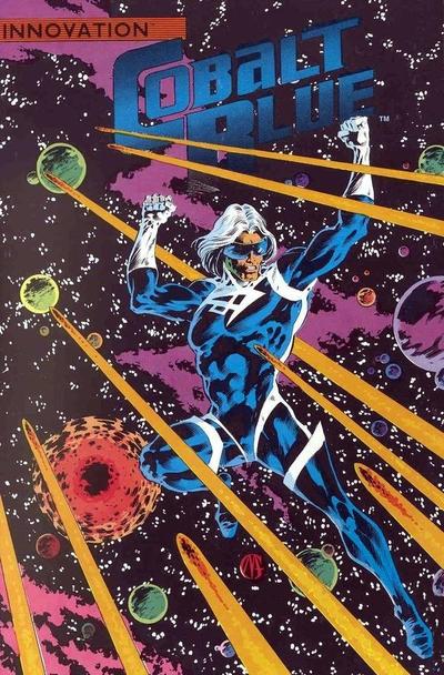 Cover for Cobalt Blue (Innovation, 1989 series)