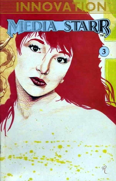 Cover for Media*Starr (Innovation, 1989 series) #3