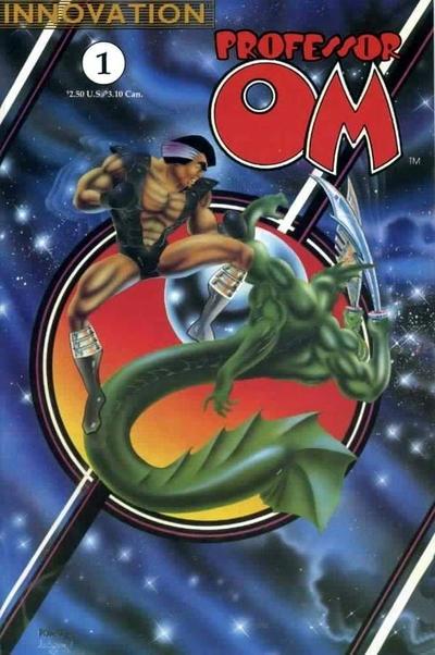 Cover for Professor Om (Innovation, 1990 series) #1