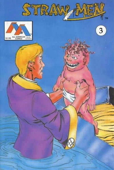 Cover for Straw Men (Innovation, 1989 series) #3