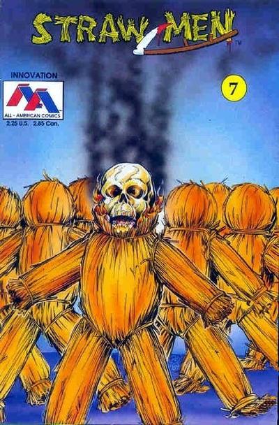 Cover for Straw Men (Innovation, 1989 series) #7
