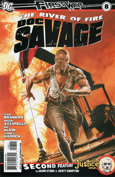Cover for Doc Savage (DC, 2010 series) #8