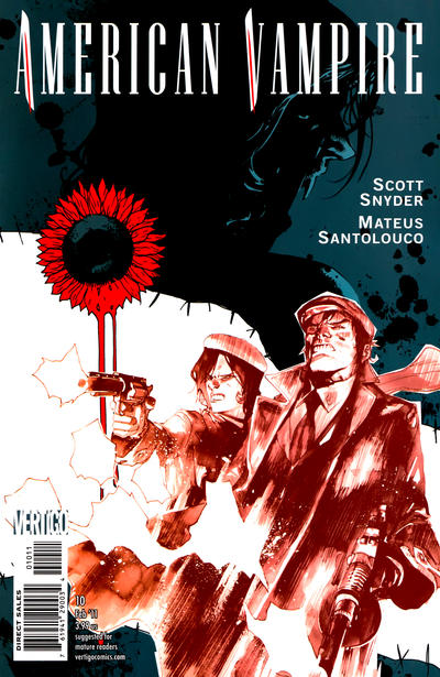 Cover for American Vampire (DC, 2010 series) #10
