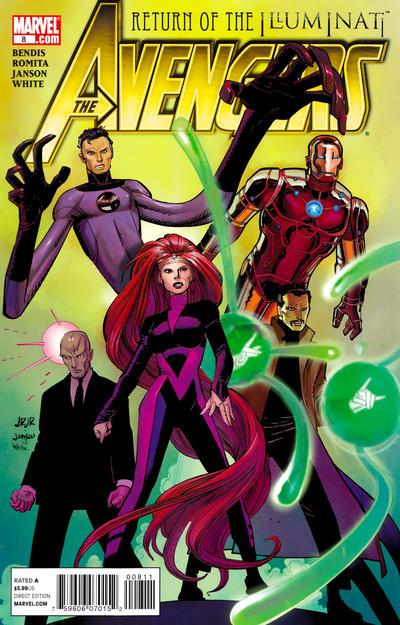 Cover for Avengers (Marvel, 2010 series) #8