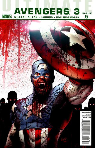 Cover for Ultimate Avengers (Marvel, 2009 series) #17