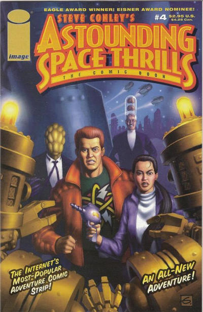 Cover for Astounding Space Thrills: The Comic Book (Image, 2000 series) #4
