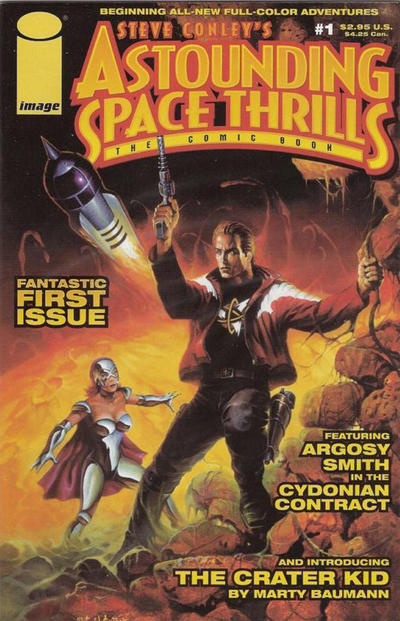 Cover for Astounding Space Thrills: The Comic Book (Image, 2000 series) #1