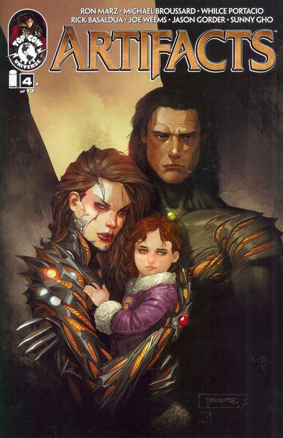 Cover for Artifacts (Image, 2010 series) #4 [Cover A]