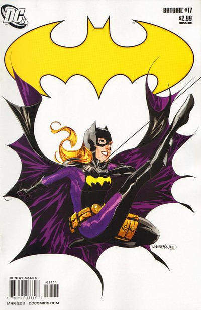 Cover for Batgirl (DC, 2009 series) #17