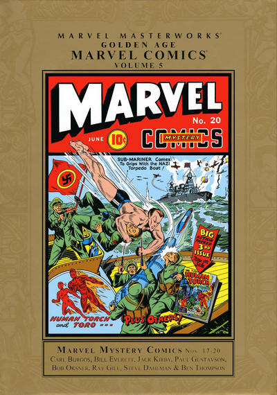 Cover for Marvel Masterworks: Golden Age Marvel Comics (Marvel, 2004 series) #5 [Regular Edition]