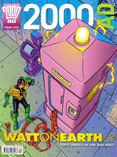 Cover for 2000 AD (Rebellion, 2001 series) #1713