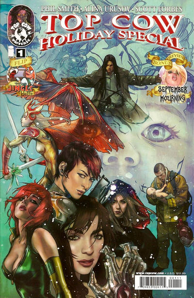 Cover for Top Cow Holiday Special (Image, 2010 series) #1