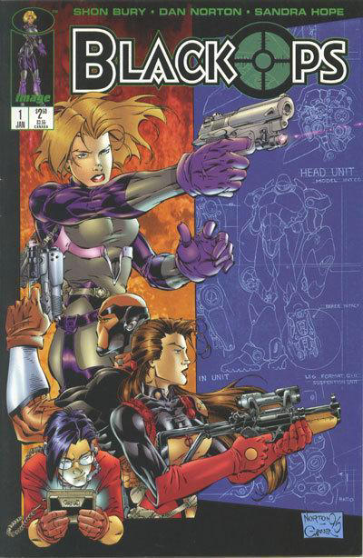 Cover for Black Ops (Image, 1996 series) #1