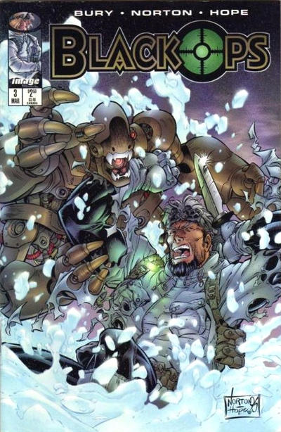Cover for Black Ops (Image, 1996 series) #3