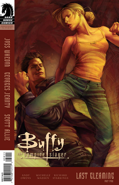Cover for Buffy the Vampire Slayer Season Eight (Dark Horse, 2007 series) #39 [Alternate Cover - Georges Jeanty, Dexter Vines, & Michelle Madsen]