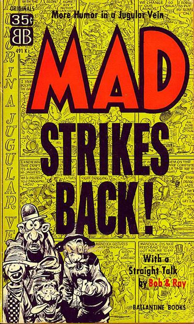 Cover for Mad Strikes Back (Ballantine Books, 1955 series) #491K