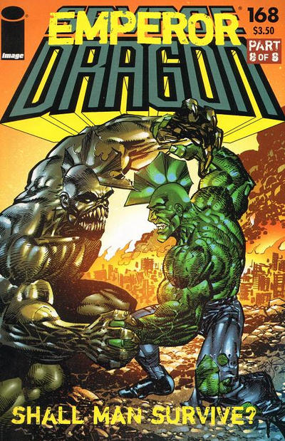 Cover for Savage Dragon (Image, 1993 series) #168