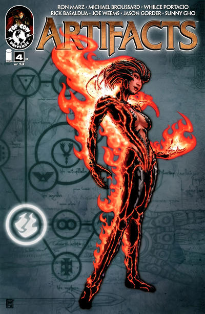 Cover for Artifacts (Image, 2010 series) #4 [Cover D]