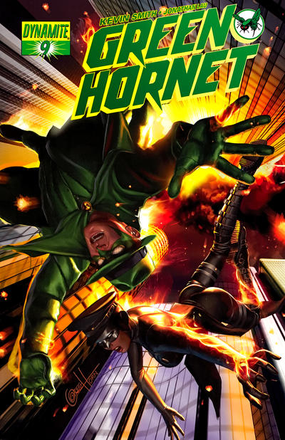 Cover for Green Hornet (Dynamite Entertainment, 2010 series) #9 [Alex Ross Cover]