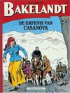 Cover for Bakelandt (Standaard Uitgeverij, 1993 series) #64 - De erfenis van Casanova