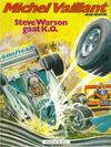 Cover for Michel Vaillant (Novedi, 1981 series) #34 - Steve Warson gaat K.O.