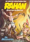 Cover for De nieuwe avonturen van Rahan Zoon van de Oertijd (Novedi, 1991 series) #2 - De menseneter