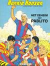 Cover for Ronnie Hansen (Novedi, 1981 series) #6 - Het geheim van Pablito