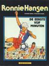 Cover for Ronnie Hansen (Novedi, 1981 series) #9 - De eerste vijf minuten