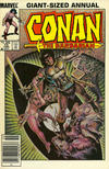 Cover for Conan Annual (Marvel, 1973 series) #10 [Newsstand Edition]