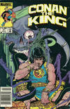 Cover for Conan the King (Marvel, 1984 series) #21 [Newsstand Edition]