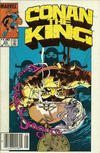 Cover Thumbnail for Conan the King (1984 series) #22 [Newsstand Edition]