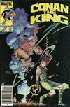 Cover Thumbnail for Conan the King (1984 series) #24 [Newsstand Edition]