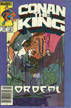 Cover Thumbnail for Conan the King (1984 series) #23 [Newsstand Edition]