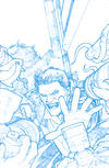 Cover Thumbnail for Angel (2009 series) #19 [Retailer Incentive Blueline Sketch Cover B - Gabriel Rodriguez]