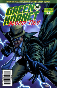 Cover Thumbnail for Green Hornet: Blood Ties (Dynamite Entertainment, 2010 series) #3 [Main Cover]