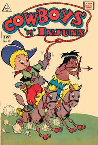 Cover Thumbnail for Cowboys 'N' Injuns (I. W. Publishing; Super Comics, 1958 series) #10