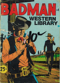 Cover Thumbnail for Badman Western Library (Yaffa / Page, 1971 ? series) #4