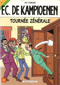 Cover Thumbnail for F.C. De Kampioenen (Standaard Uitgeverij, 1997 series) #9 - Tournée zénérale