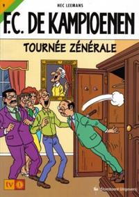 Cover for F.C. De Kampioenen (Standaard Uitgeverij, 1997 series) #9