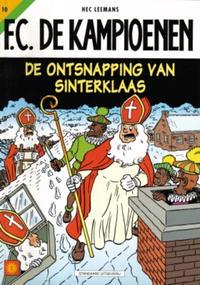 Cover Thumbnail for F.C. De Kampioenen (Standaard Uitgeverij, 1997 series) #10 - De ontsnapping van Sinterklaas