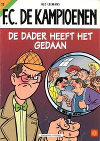 Cover Thumbnail for F.C. De Kampioenen (Standaard Uitgeverij, 1997 series) #23