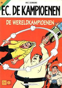 Cover for F.C. De Kampioenen (Standaard Uitgeverij, 1997 series) #24
