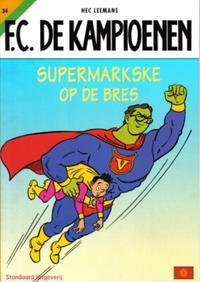 Cover for F.C. De Kampioenen (Standaard Uitgeverij, 1997 series) #34