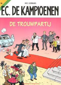 Cover for F.C. De Kampioenen (Standaard Uitgeverij, 1997 series) #36