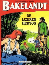 Cover Thumbnail for Bakelandt (Standaard Uitgeverij, 1993 series) #4