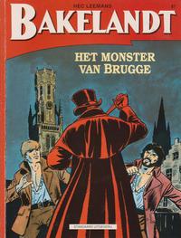 Cover Thumbnail for Bakelandt (Standaard Uitgeverij, 1993 series) #67 - Het monster van Brugge