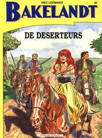 Cover Thumbnail for Bakelandt (Standaard Uitgeverij, 1993 series) #80 - De deserteurs
